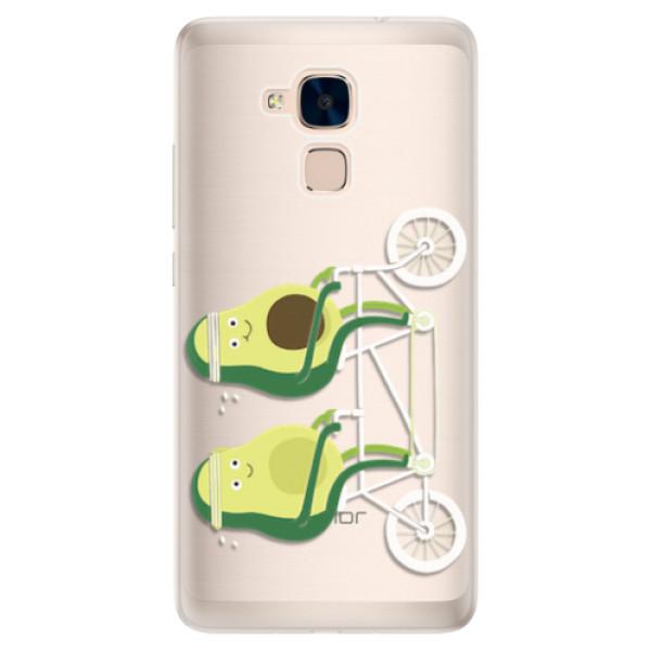 Silikonové pouzdro iSaprio - Avocado - Huawei Honor 7 Lite