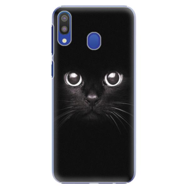 Plastové pouzdro iSaprio - Black Cat - Samsung Galaxy M20