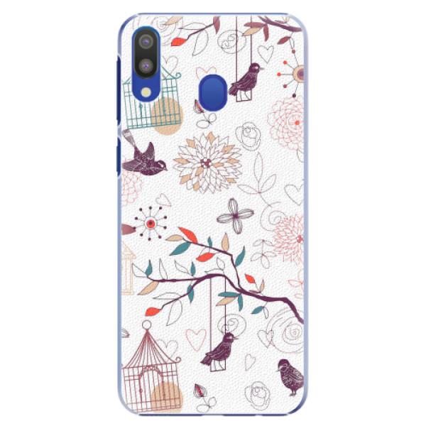 Plastové pouzdro iSaprio - Birds - Samsung Galaxy M20