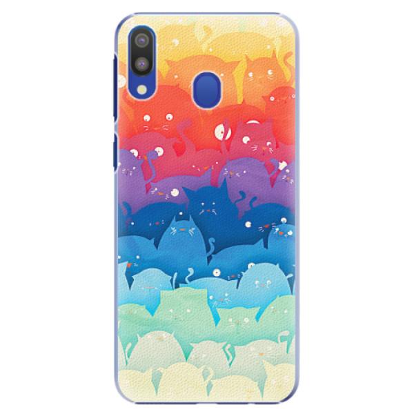 Plastové pouzdro iSaprio - Cats World - Samsung Galaxy M20