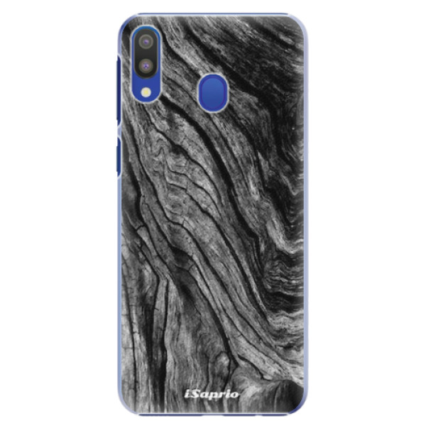 Plastové pouzdro iSaprio - Burned Wood - Samsung Galaxy M20
