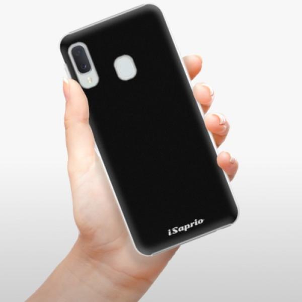 Plastové pouzdro iSaprio - 4Pure - černý - Samsung Galaxy A20e