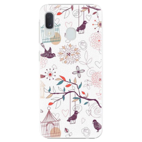 Plastové pouzdro iSaprio - Birds - Samsung Galaxy A20e