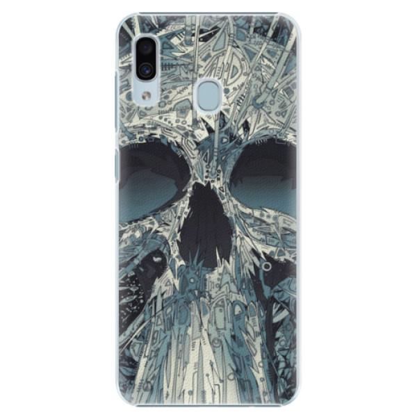Plastové pouzdro iSaprio - Abstract Skull - Samsung Galaxy A30