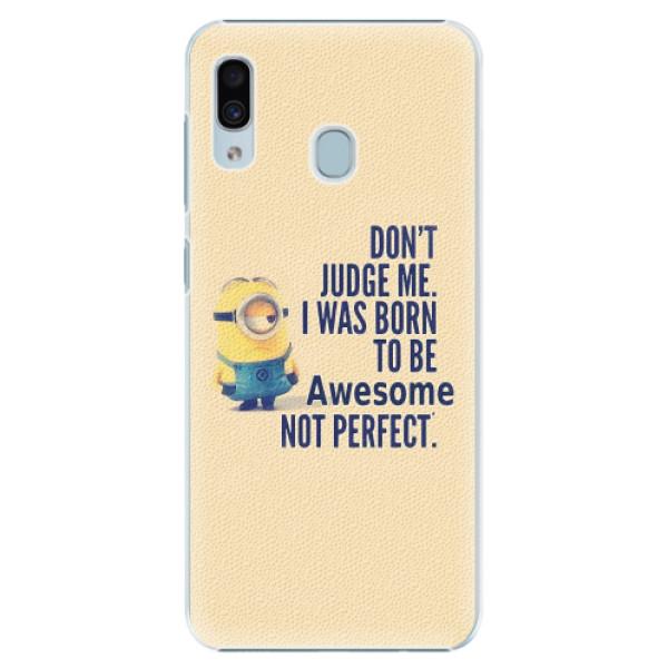 Plastové pouzdro iSaprio - Be Awesome - Samsung Galaxy A30