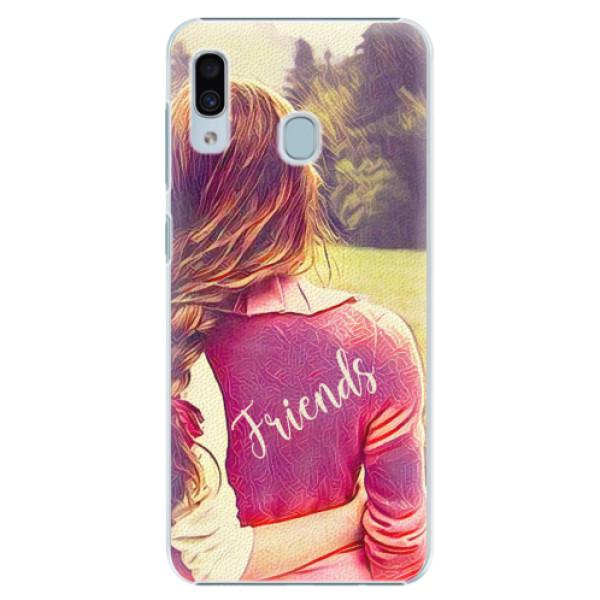 Plastové pouzdro iSaprio - BF Friends - Samsung Galaxy A30