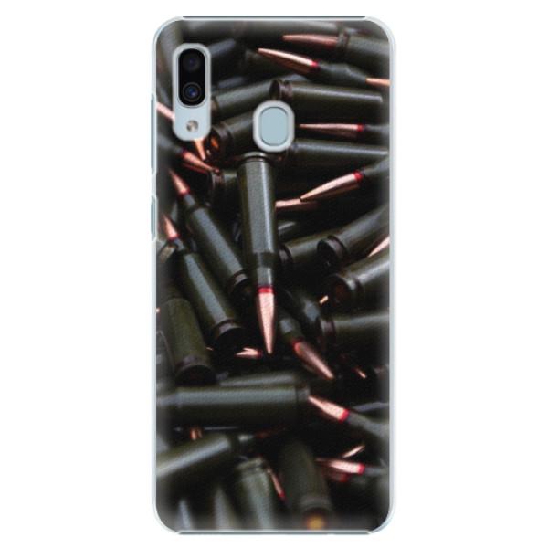 Plastové pouzdro iSaprio - Black Bullet - Samsung Galaxy A30