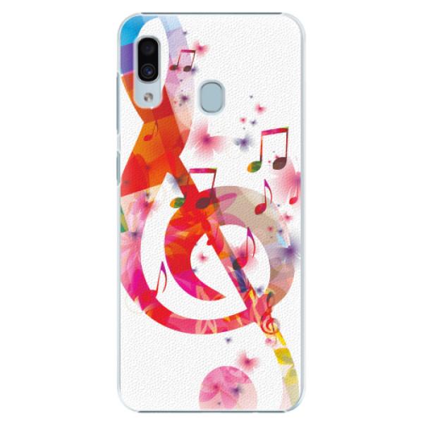 Plastové pouzdro iSaprio - Love Music - Samsung Galaxy A30