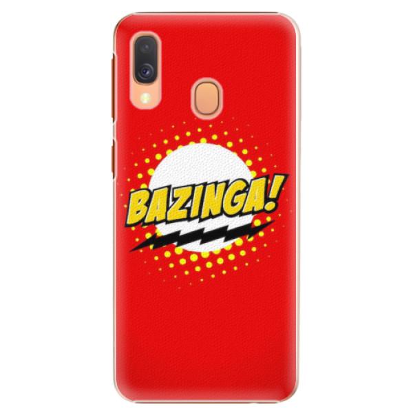 Plastové pouzdro iSaprio - Bazinga 01 - Samsung Galaxy A40