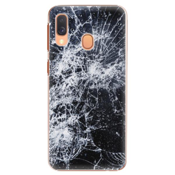 Plastové pouzdro iSaprio - Cracked - Samsung Galaxy A40