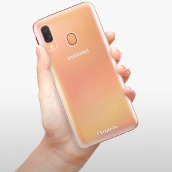 Plastové pouzdro iSaprio - 4Pure - mléčný bez potisku - Samsung Galaxy A40