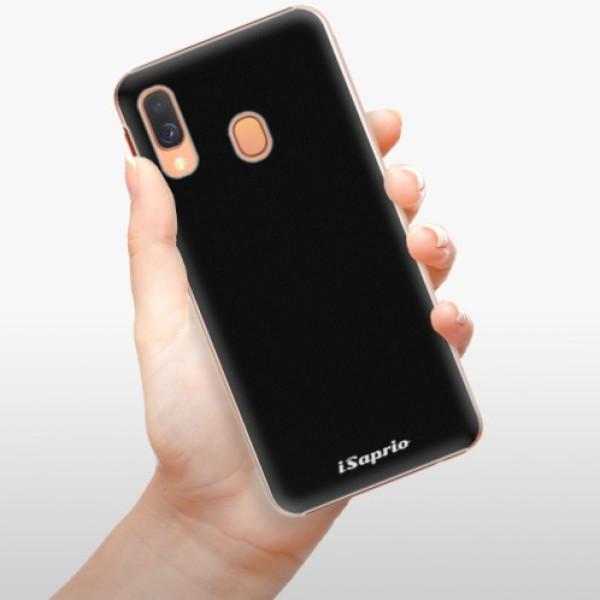 Plastové pouzdro iSaprio - 4Pure - černý - Samsung Galaxy A40