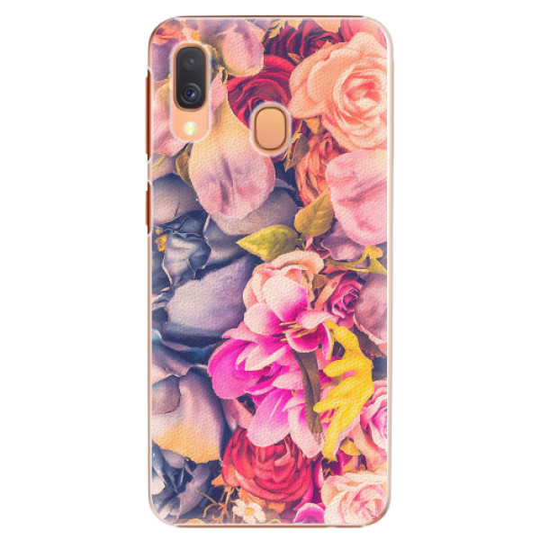 Plastové pouzdro iSaprio - Beauty Flowers - Samsung Galaxy A40