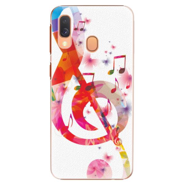 Plastové pouzdro iSaprio - Love Music - Samsung Galaxy A40