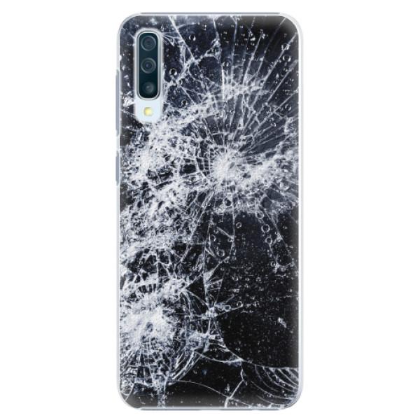 Plastové pouzdro iSaprio - Cracked - Samsung Galaxy A50