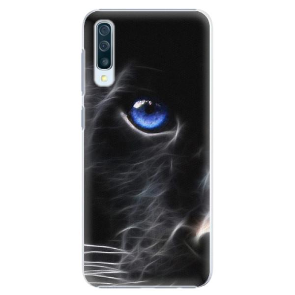 Plastové pouzdro iSaprio - Black Puma - Samsung Galaxy A50
