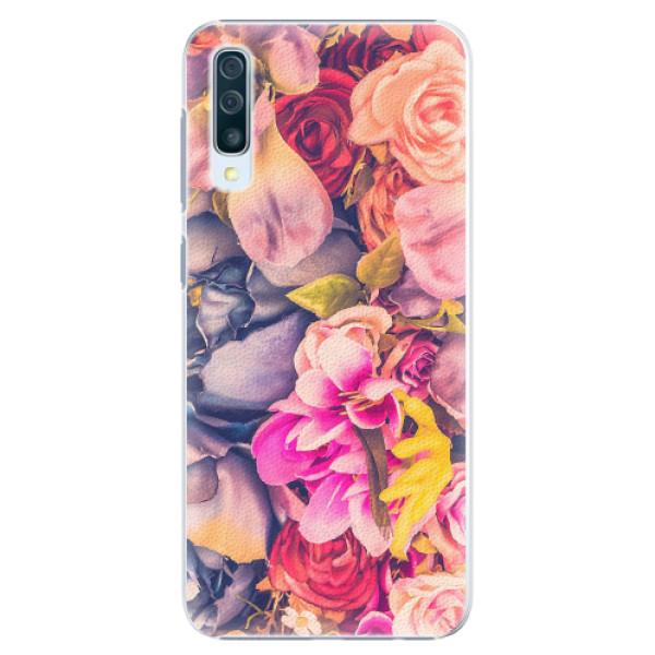 Plastové pouzdro iSaprio - Beauty Flowers - Samsung Galaxy A50