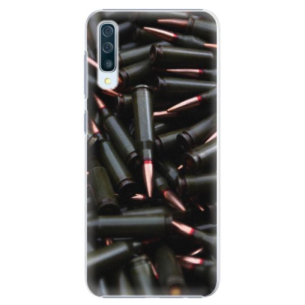 Plastové pouzdro iSaprio - Black Bullet - Samsung Galaxy A50