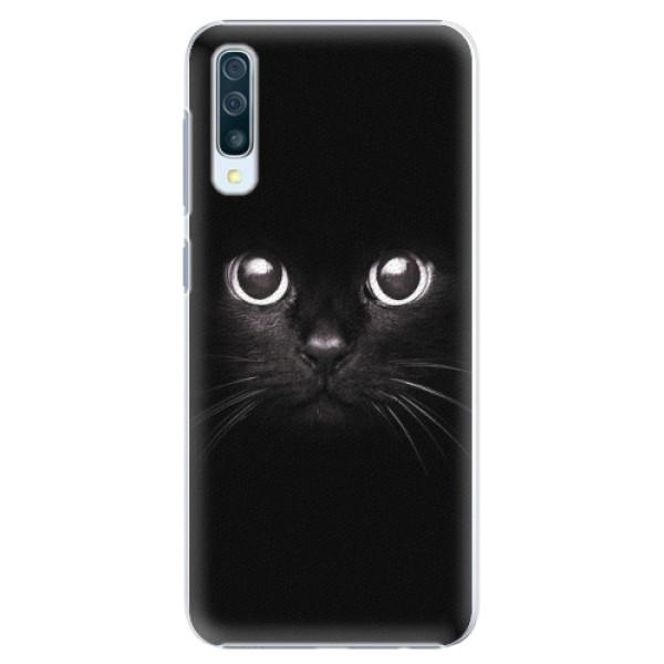 Plastové pouzdro iSaprio - Black Cat - Samsung Galaxy A50