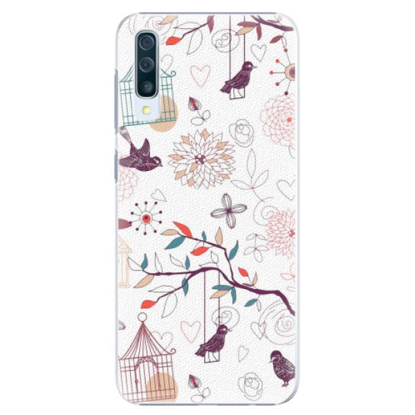Plastové pouzdro iSaprio - Birds - Samsung Galaxy A50