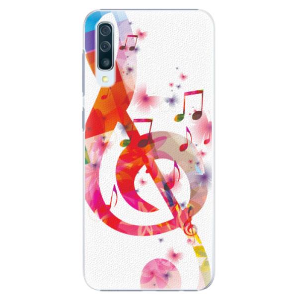 Plastové pouzdro iSaprio - Love Music - Samsung Galaxy A50