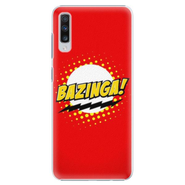 Plastové pouzdro iSaprio - Bazinga 01 - Samsung Galaxy A70