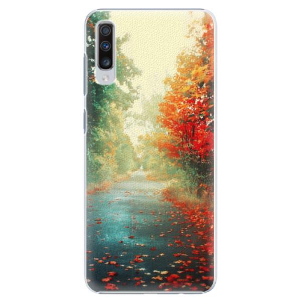 Plastové pouzdro iSaprio - Autumn 03 - Samsung Galaxy A70