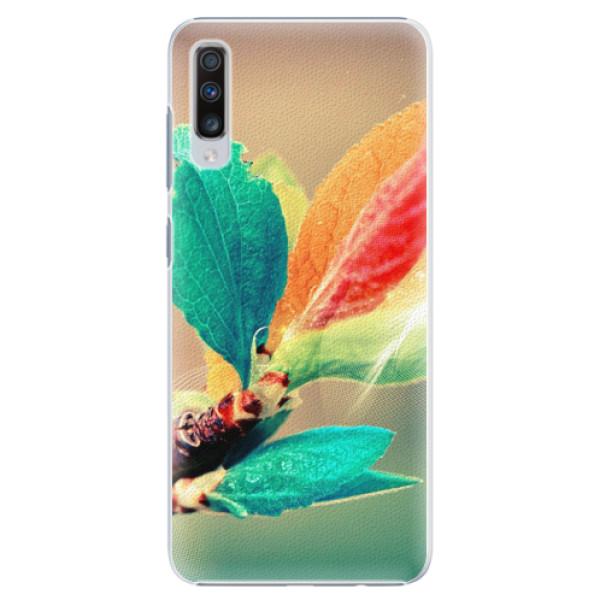 Plastové pouzdro iSaprio - Autumn 02 - Samsung Galaxy A70