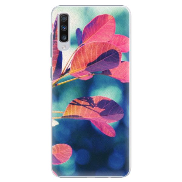Plastové pouzdro iSaprio - Autumn 01 - Samsung Galaxy A70