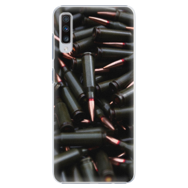 Plastové pouzdro iSaprio - Black Bullet - Samsung Galaxy A70