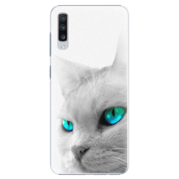 Plastové pouzdro iSaprio - Cats Eyes - Samsung Galaxy A70