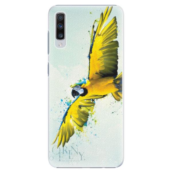 Plastové pouzdro iSaprio - Born to Fly - Samsung Galaxy A70