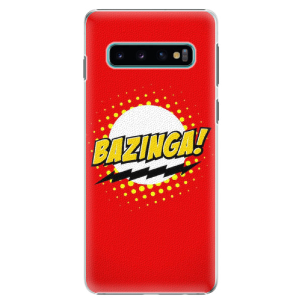 Plastové pouzdro iSaprio - Bazinga 01 - Samsung Galaxy S10