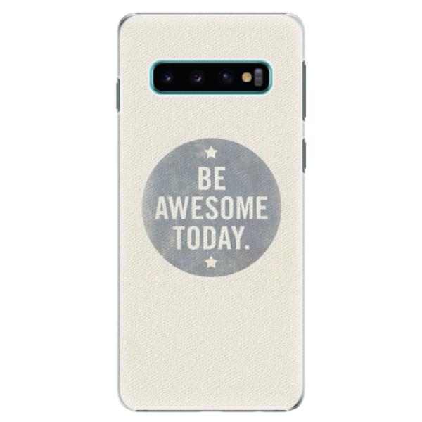Plastové pouzdro iSaprio - Awesome 02 - Samsung Galaxy S10