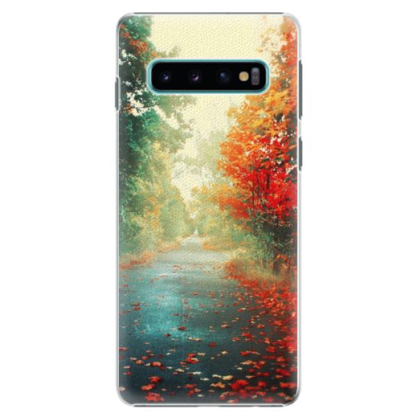 Plastové pouzdro iSaprio - Autumn 03 - Samsung Galaxy S10