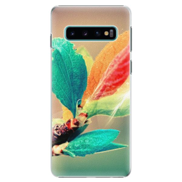 Plastové pouzdro iSaprio - Autumn 02 - Samsung Galaxy S10