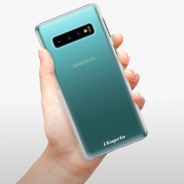 Plastové pouzdro iSaprio - 4Pure - mléčný bez potisku - Samsung Galaxy S10