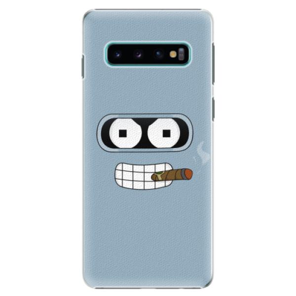 Plastové pouzdro iSaprio - Bender - Samsung Galaxy S10