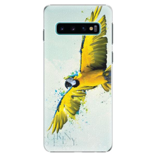 Plastové pouzdro iSaprio - Born to Fly - Samsung Galaxy S10