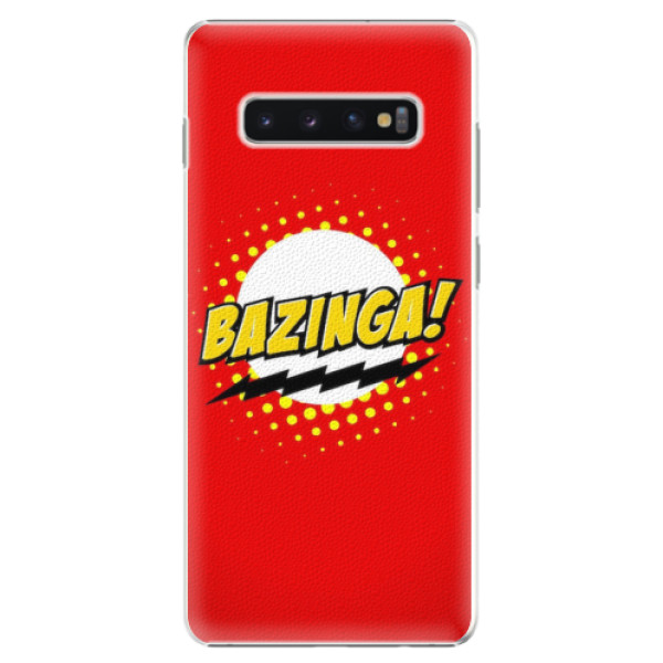 Plastové pouzdro iSaprio - Bazinga 01 - Samsung Galaxy S10+