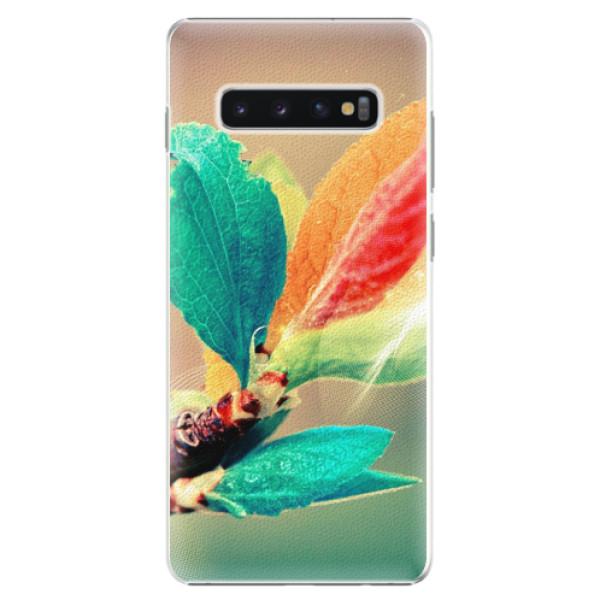Plastové pouzdro iSaprio - Autumn 02 - Samsung Galaxy S10+
