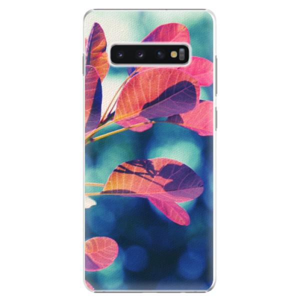 Plastové pouzdro iSaprio - Autumn 01 - Samsung Galaxy S10+