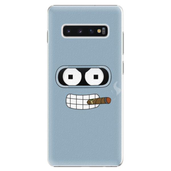 Plastové pouzdro iSaprio - Bender - Samsung Galaxy S10+
