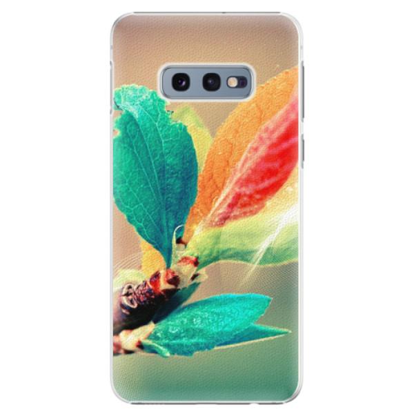 Plastové pouzdro iSaprio - Autumn 02 - Samsung Galaxy S10e