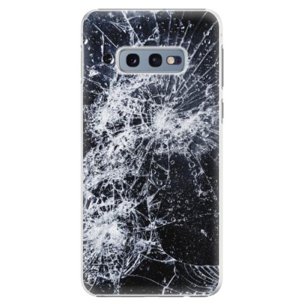 Plastové pouzdro iSaprio - Cracked - Samsung Galaxy S10e
