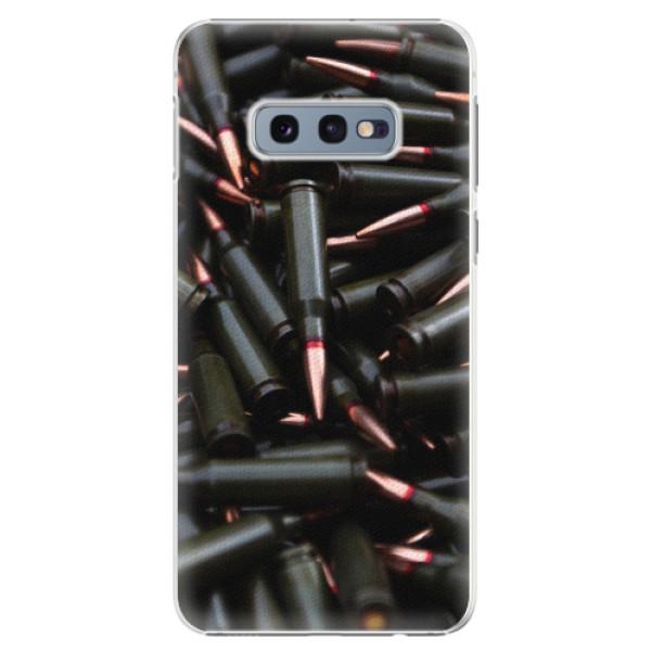 Plastové pouzdro iSaprio - Black Bullet - Samsung Galaxy S10e
