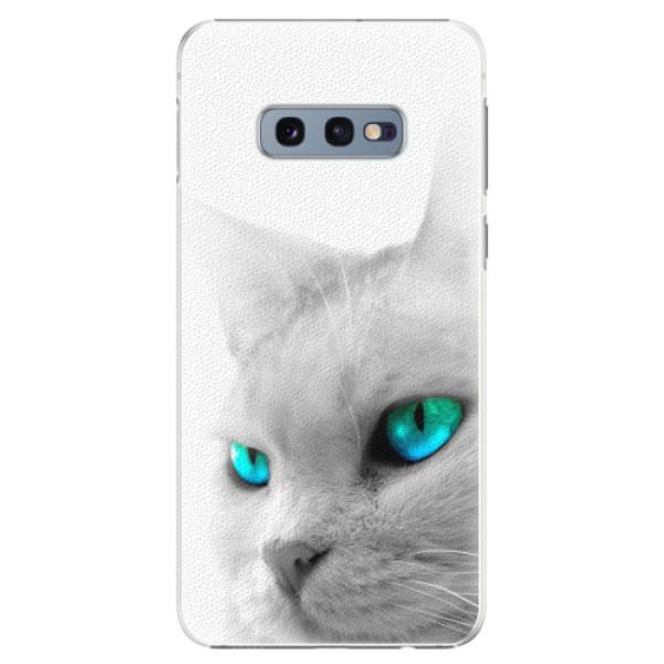 Plastové pouzdro iSaprio - Cats Eyes - Samsung Galaxy S10e