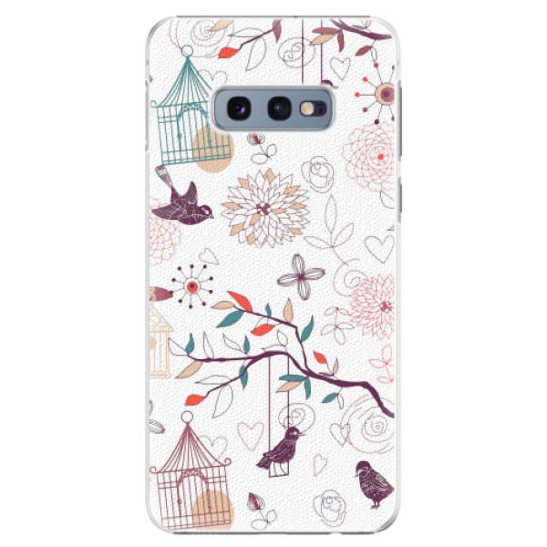Plastové pouzdro iSaprio - Birds - Samsung Galaxy S10e
