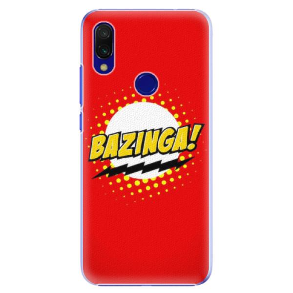 Plastové pouzdro iSaprio - Bazinga 01 - Xiaomi Redmi 7