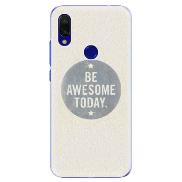Plastové pouzdro iSaprio - Awesome 02 - Xiaomi Redmi 7